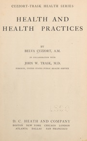 Health and health practices