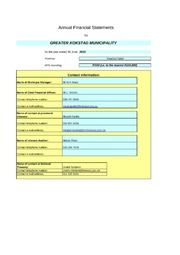 KZN433 Greater Kokastad AFS 2009-10 audited
