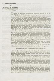 Reglamento del cuerpo de salud militar