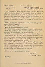 General orders. No. 167
