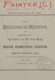 The medicines of medicine