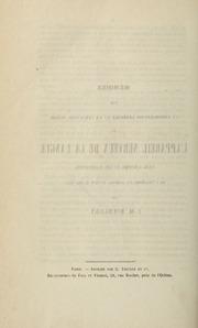 Mémoire sur la coordination générale et la structure intime de l'appareil nerveux de la langue dans l'homme et les mammiféres : lu à l'Académie des sciences, le lundi 17 mai 1847