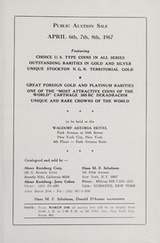 10th Anniversary Auction of United States and Foreign Coins