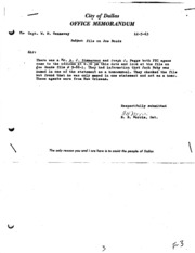 JFK Assassination DPD File 1120