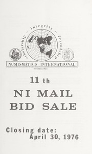 11th NI Mail Bid Sale