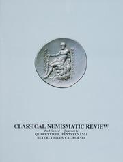 The Classical Numismatic Review: Vol. 15 No. 3