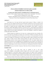 16. Applied Evaluation Of Trophic Status In Narta Veledin Cako