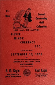 164th Mail Bid Auction: Silver, Minor Currency, Etc.