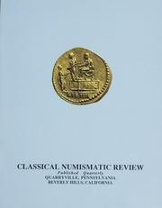 The Classical Numismatic Review: Vol. 16 No. 1