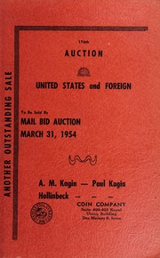 176th Auction: United States and Foreign