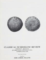 The Classical Numismatic Review: Vol. 17 No. 3