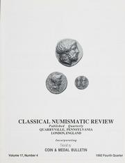 The Classical Numismatic Review: Vol. 17 No. 4