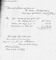 Payment for Ripley Medal