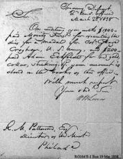 Crogan Medal Account