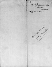 Robert M. Patterson To William G. Stearns, 8/15/1838