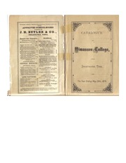Hiwassee College 1873-74 Catalog