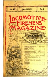 Locomotive Firemen's Magazine, Volume 55 by Brotherhood Of Locom Hardcover Book