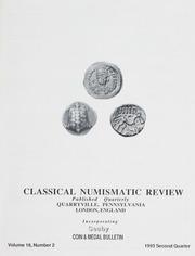The Classical Numismatic Review: Vol. 18 No. 2