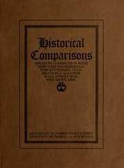 1914, New York's commercial tercentenary : a few historical events as given by historians compared with their actual occurrence