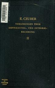 differential und integral rechnung vorlesungen sommer und winter semester 1895 1896 97. Black Bedroom Furniture Sets. Home Design Ideas