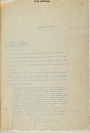O'Reilly to Sixsmith, Dec. 30, 1922