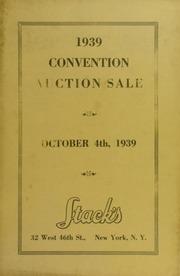 1939 Convention Auction Sale