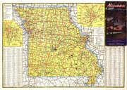 Missouri Highway Map Missouri State Highway Commission - Highway map of missouri