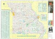Missouri Official Highway Map 1967 Missouri State Highway