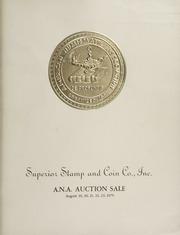 The 1975 A.N.A. Auction Sale