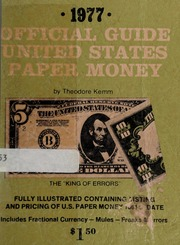 1977 Official Guide United States Paper Money