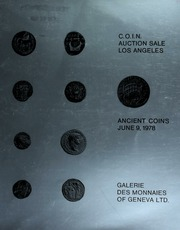 The 1978 C.O.I.N. auction sale : Greek, Roman & Byzantine coins. [06/09/1978]