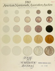 The 1980 American Numismatic Association auction, featuring coins from over 338 different consignors ... [08/18-21/1980]