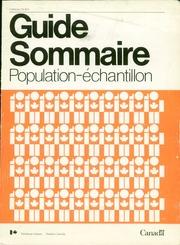 Guide sommaire : population-échantillon.
