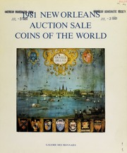 1981 New Orleans auction sale : coins of the world. [07/25-26/1981]