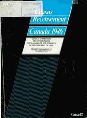 Guide à l-intention des utilisateurs sur la qualité des données du recensement de 1986, échantillonnage et pondération.