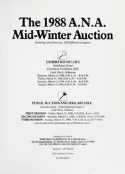 The 1988 Mid-Winter Auction