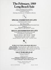 The 1989 February Long Beach Sale