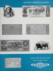 1991 Fall Currency Auction