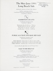 The 1991 Long Beach Sale