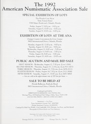 The 1992 American Numismatic Association Sale
