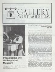 Gallery Mint Museum: July 1993