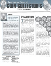 Publishers Choice Coin Collector's Newsletter: Vol. 1 No. 11