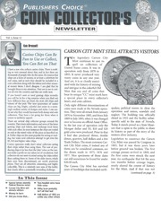 Publishers Choice Coin Collector's Newsletter: Vol. 1 No. 12