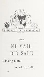 19th NI Mail Bid Sale