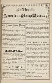 The American Stamp Mercury: 1867