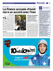 20 Minutes Edition France 2013-11-12