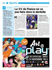 20 Minutes Edition France 2013-11-20