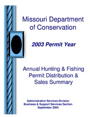 Missouri Conservation Forums Autumn 2003 Missouri