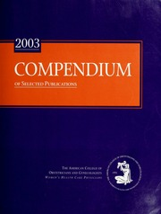 Acog Compendium Download