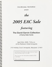 The 2005 EAC Convention Sale